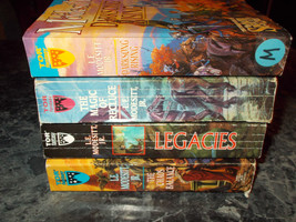 L E Modesitt Jr lot of 4 fantasy paperbacks  - $4.99