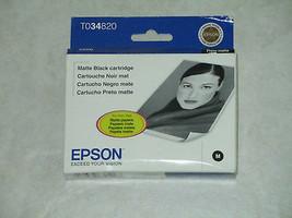 Epson T034820 matte black ink jet C13 T034820 stylus photo printer 2200 ... - $14.80