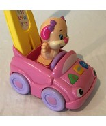 Fisher Price Laugh and Learn Smart Stages Puppys Push Car Numbers Letter... - $11.99