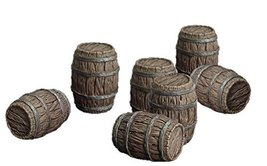 Spellcrow 28mm Game Terrain Barrels