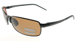 Serengeti VENTO Satin Black / Polarized Drivers Sunglasses 7297 60mm - $293.02