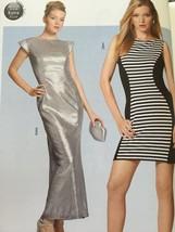 Burda Sewing Pattern 7053 Ladies Misses Dress Size US 6-18 / EUR 32-44 New - $13.39