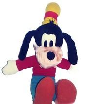 "Disneyland Goofy 14"" Plush Stuffed Toy Dog Vintage 1990s Authentic Disney  - $14.46"