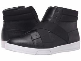 Size 12 CALVIN KLEIN Leather Mens Shoe Sneaker! Reg$145 Sale$89.99 - $89.99