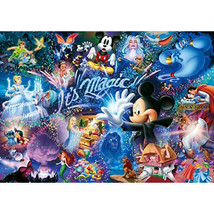 1000 piece jigsaw puzzle Disney It's Magic! World smallest 1000 pi JAPAN F/S - $43.92