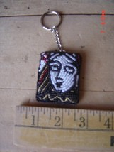 Beaded Key Chain - QUEEN of HEARTS - Lot of TWO (2) Cards, Gambling - $9.89