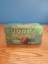 Judge For Yourself The Game of Real Life Courtroom Dramas Pressman Adults Team  - $14.80