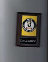 101st Airborne Iraq Plaque Usa Military Photo Plaque Army United States - $3.95