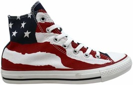 Converse Chuck Taylor Hi Red/White/Blue USA 148869F Men's Size 3.5 - $60.00
