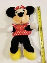 Vintage Minnie Mouse Disney World Disneyland Red Polka Dot Disneyland Pl... - $18.12
