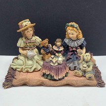 Yesterdays child Tea for Four figurine boyds dollstone collection dolly sarah - $34.65