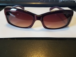 NEW AUTHENTIC OLIVER PEOPLES SUNGLASSES DARCEY ROC BURGUNDY/BROWN GRADIENT - $38.61