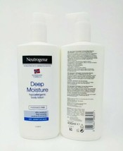 2- Neutrogena Norwegian Formula Deep Moisture Body Lotion Hypoallergenic 13.5oz - $24.74
