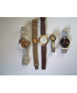 Five Vintage Watches Nike Kenneth Lane Xanadu Milan Marcelo to fix or fo... - $19.00