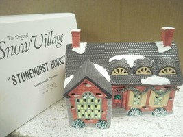 DEPT 56- RETIRED- 51403 STONEHURST HOUSE-EXCELLENT CONDITION  D14 - $28.37