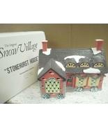 DEPT 56- RETIRED- 51403 STONEHURST HOUSE-EXCELLENT CONDITION  D14 - $28.37