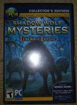 Shadow Wolf Mysteries Tracks Of Terror Hidden Object Ce Pc Game New + Bonus Game - $7.91