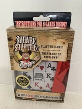 Square Shooters The First Deck of Cards on Dice Family Fun Board Game - $32.55