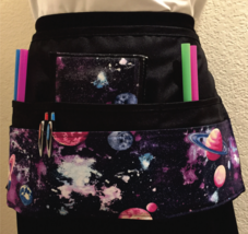 6 Pocket Waist Apron / Galaxy - $19.95