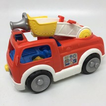 Fisher Price - Little People - Musical/Talking Fire Engine Truck - $10.39