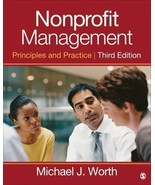 Nonprofit Management: Principles and Practice by Worth, Michael J. - $28.95