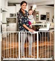 Regalo 56-Inch Extra WideSpan Walk Through Baby Gate, Bonus Kit, Include... - $87.48