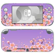Nintendo Switch Lite Console Vinyl Skin Sticker Sakura Blossom Flowers Vinyl Set - $9.80