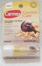 Carmex Colloidal Oatmeal SUGAR PLUM Lip Balm Natural Moisture .15 oz/4.2... - $7.43