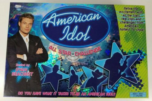 Primary image for American Idol All Star Challenge Board Game DVD Interactive Game 2006