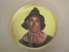 SCARECROW collector plate WIZARD OF OZ PORTRAITS Thomas Blackshear - $43.49