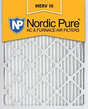Nordic Pure 12x18x1 MERV 10 Pleated AC Furnace Air Filter Box of 2 Pack Lot  - $8.99