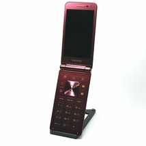Samsung Galaxy Folder 2 Red Wine SM-G160N Unlocked Single Sim LTE Mobile USED image 2