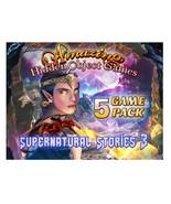 Amazing Hidden Object Games: Supernatural Stories 3 (5 Game Pk) [PC DVD-... - $12.95