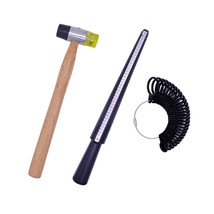 Jewelry Tools Kit, Doubletwo Ring Sizer Tool Plastic Ring Mandrel Finger... - $12.69