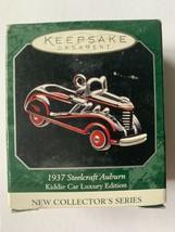 Kiddie Car Hallmark Keepsake Ornament 1937 Steelcraft Auburn 1998 Miniature - $9.49