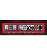 University of New Mexico Officially Licensed Framed Campus Letter Art - $39.95