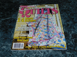 McCall's Quick Quilts Magazine September 2002 Garden Party - $2.99