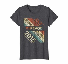 Brother Shirts - Retro Vintage Legends Born In July 2015 Gift 3 Years Ol... - $19.95+