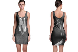 Retro Collection #3 Women's Sleevless Bodycon Dress - $21.80+