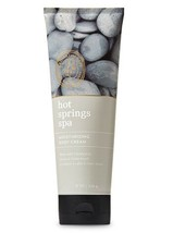 Bath & Body Works Hot Springs Spa Moisture Body Cream 8oz/226ml New - $14.73