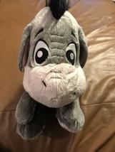 "Disney Parks Winnie the Pooh Baby Eeyore Big Feet Plush Doll 12""  Cute - $16.34"