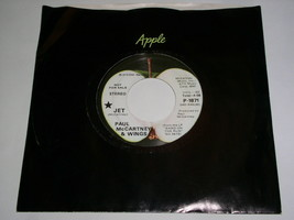 Paul McCartney Beatles Jet Promotional Black Star 45 Rpm Record Apple Label - $99.99