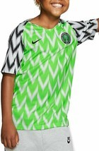 NIKE NIGERIA 2018 FOOTBALL/SOCCER YOUTH UNISEX HOME JERSEY ASST SIZES 89... - £25.44 GBP