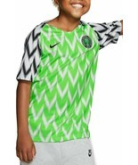 NIKE NIGERIA 2018 FOOTBALL/SOCCER YOUTH UNISEX HOME JERSEY ASST SIZES 89... - $40.00