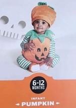 PUMPKIN HALLOWEEN COSTUME Infant Size 6 - 12 Months NEW NWT - €13,15 EUR