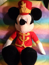 Vintage Late 90's Macy's Mickey Mouse Plush Toy Disney Band Leader Plush... - $19.75