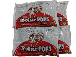 Candy Cane Tootsie Pops 4 bags Peppermint Tootsie Pop lollipop suckers - $24.97