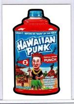"2017 Wacky PACKAGES/GPK ""Hawaiian Punk"" #4 Network Spews Exclusive Sticker Card. - $11.26"