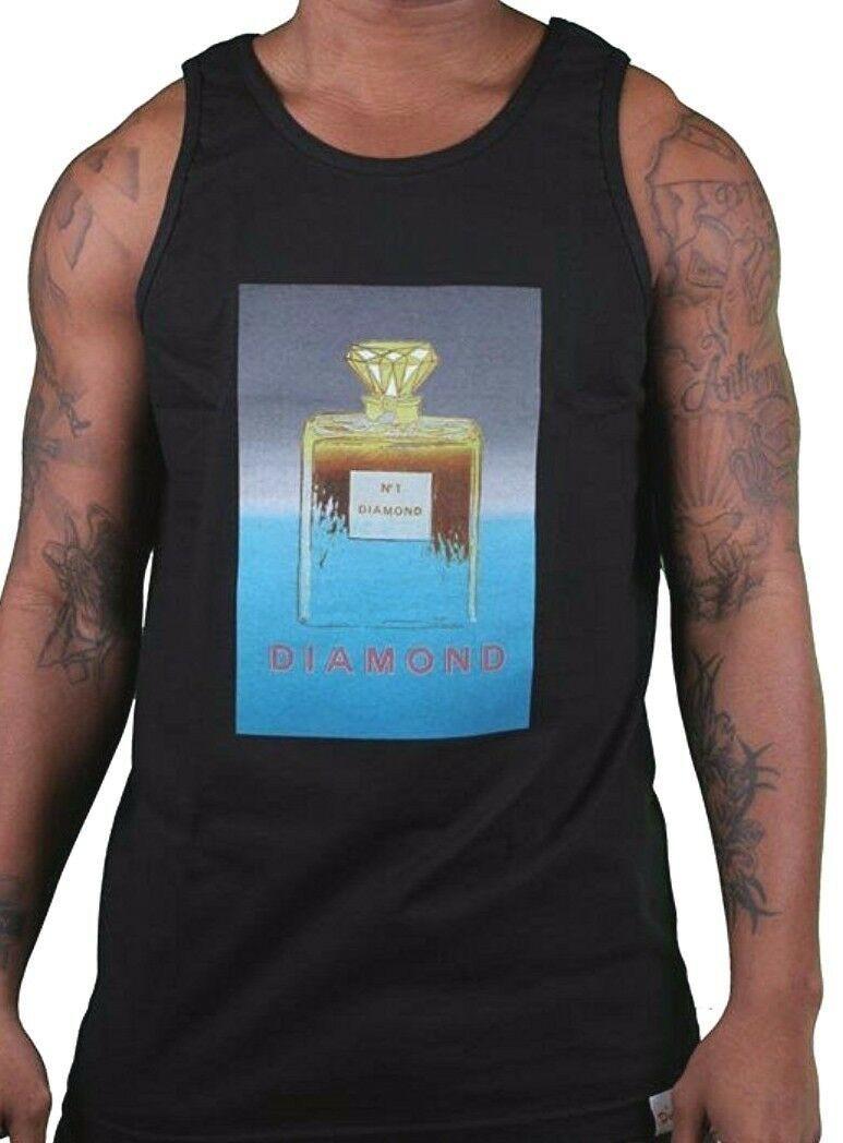 Diamond Supply Co Mens Black No. 1 diamond Tank Top Muscle Shirt XL NWT