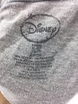 Girl's Disney Mickey Mouse Word Art Gray Graphic T Shirt Junior Size XL 15/17 image 3